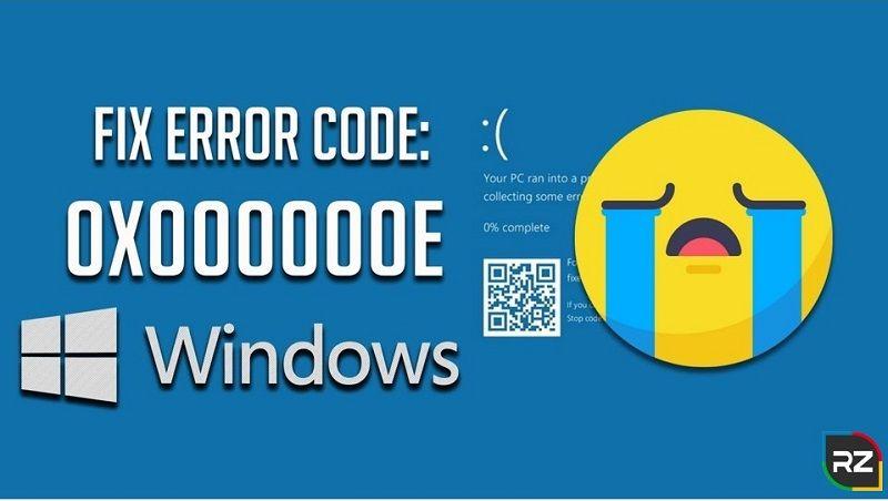 Fix Windows 10 Boot Error Code 0x000000e