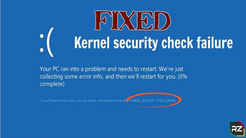 Windows Kernel event id 41 error