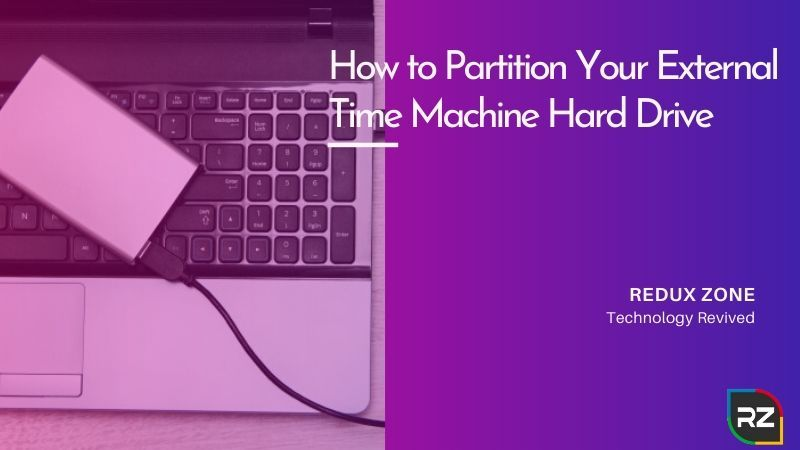 How to Partition Your External Time Machine Hard Drive