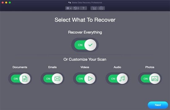 Stellar Mac Data Recovery Software - recover permanently deleted files mac