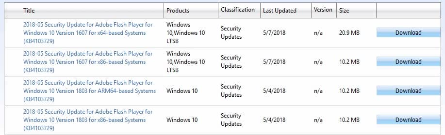 Install the update manually - 0x800f081f Windows 10