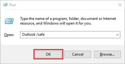 Run Outlook in a Safe Mode - 0x800ccc0f Outlook 2007