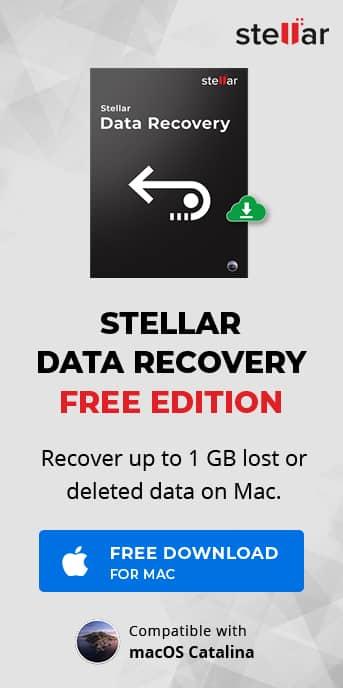 Buy Stellar Mac Data Recovery Software