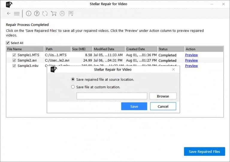 Video Repair Software Free