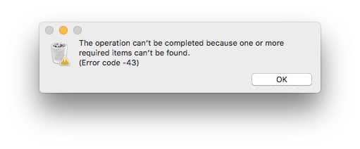 How To Get Rid Of Error Code 43 On Mac