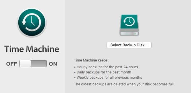 Time Machine - Fix Mac Error Code 8072