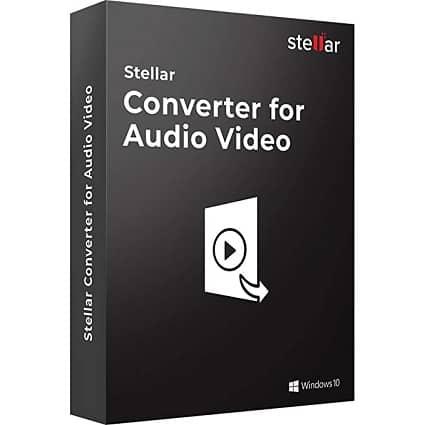 Stellar Audio Video Converter - Stellar Christmas Deal 2020