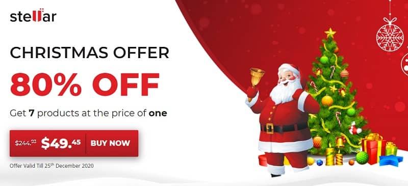 Stellar Christmas Offer 2020