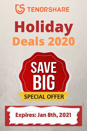 Tenorshare Holiday Offers 2020