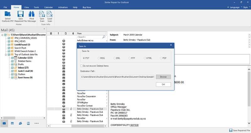 stellar-repair-for-outlook-choose-to-save-Stellar Repair for Outlook Activation Key Free