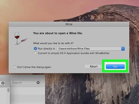 how to open exe files on mac - step 11