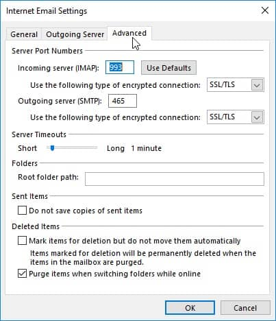 advanced-tab - fix outlook error code 421