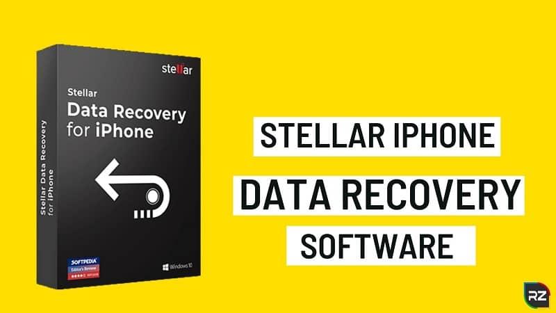 Stellar logiciel de récupération de données iPhone